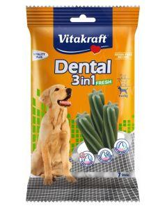 Vitakraft Poslastica Dental Fresh 3u1 180g