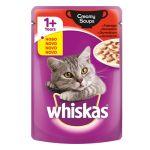 Whiskas Creamy Soups Govedina 85g