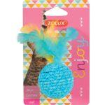 580713 Zolux Igračka Za Mačke Elastična Lopta Više Vrsta
