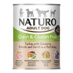 Naturo Adult Dog Grain & Gluten Free Ćuretina 390g