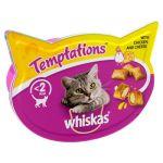 Whiskas Temptations Piletina i Sir 60g